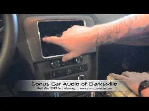 Sonus Car Audio Of Clarksville Ipad Mini Video 2013 Mustang Youtube Sonus Car Audio Templates