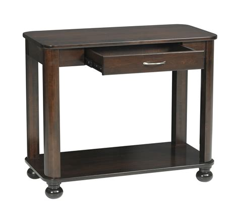 Sofa Table Measurements by Metro Sofa Table Ohio Hardwood Furniture