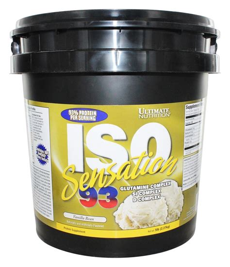 Iso Sensation 93 Ultimate Nutrition 5 Lbs buy ultimate nutrition iso sensation 93 vanilla 5 lbs