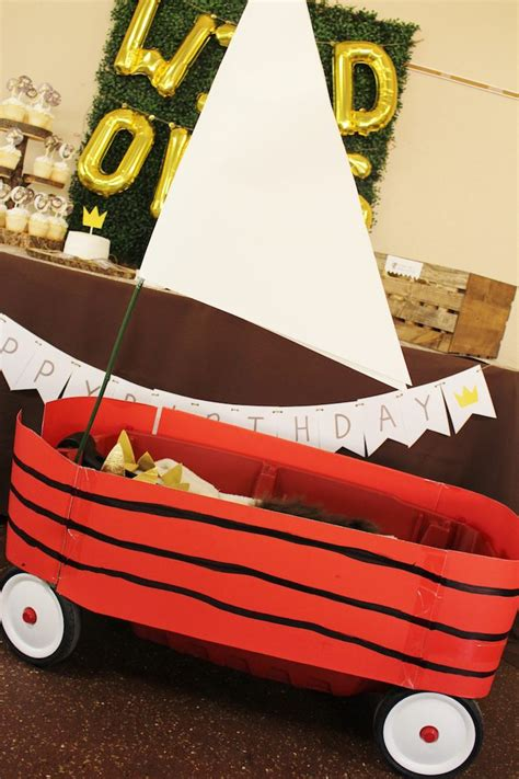where the wild things are boat diy kara s party ideas where the wild things are birthday
