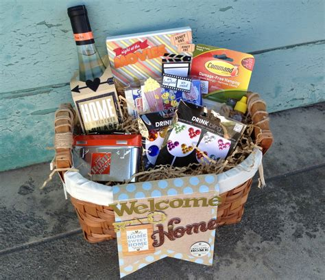 welcome to your new home gift ideas house warming goodie basket me my big ideas