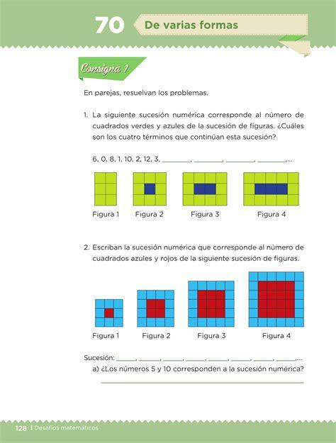 libros de texto gratuitos 2016 2017 diario educacin libro de matematicas 5 grado 2016 2017 desaf 237 os