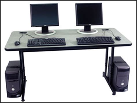 computer table for two persons woodwork two person computer desks pdf plans