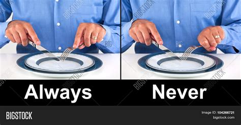what s with the way we use forks and knives at the table proper way hold fork knife concept image photo bigstock