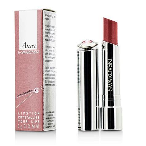 Lipstik Aurabeauty swarovski aura by swarovski lipstick crystallize your vintage the