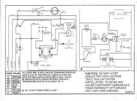 diagrams 14351208 suburban rv furnace wiring diagram