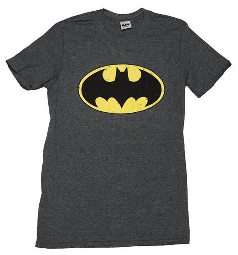 Tshirt Batman Logo Black B C s charcoal distressed batman logo t shirt