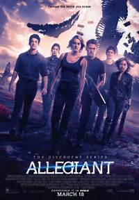 The Divergent Series Allegiant  On DVD Movie Synopsis And Info