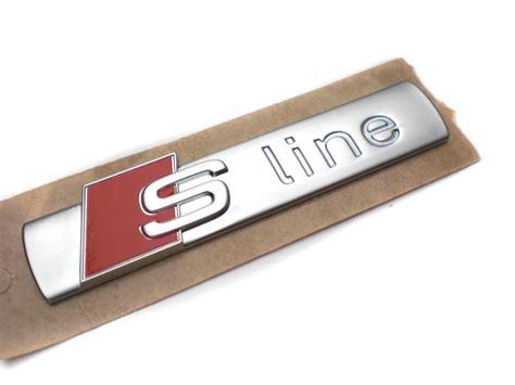 Audi S Line Schriftzug by Audi S Line Schriftzug Aufkleber Original Emblem Logo