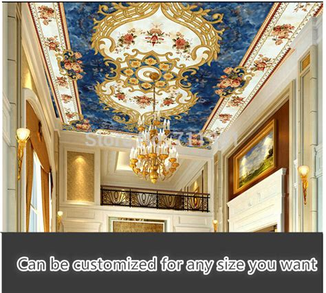 ceiling wallpaper murals aliexpress buy custom 3d wallpaper mural wallpaper