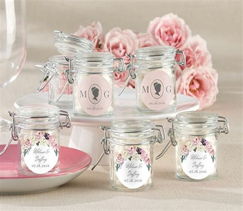 Wedding Favors In Jars by Glass Jars As Wedding Favors