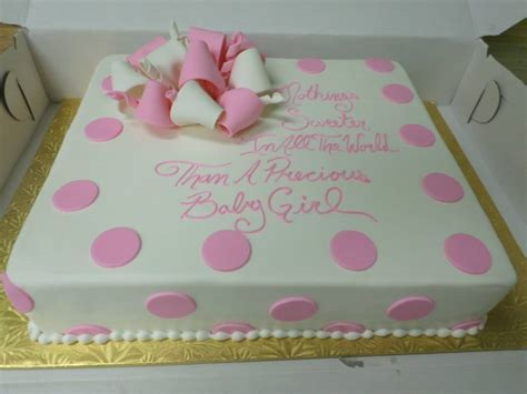 Girl Baby Shower Cakes Sayings   Party XYZ