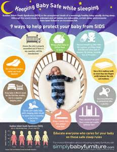 9 ways to help protect your baby from sids visual ly