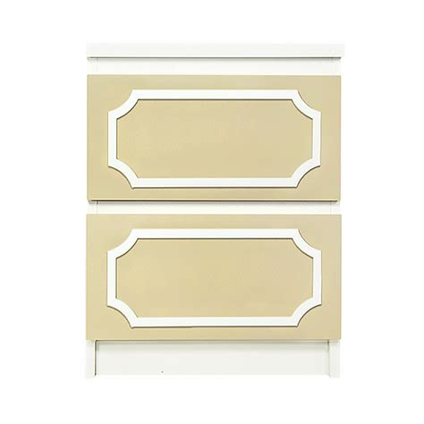 Malm 2 Drawer Chest by O Verlays 6x13 Kit For Malm 2 Drawer Chest