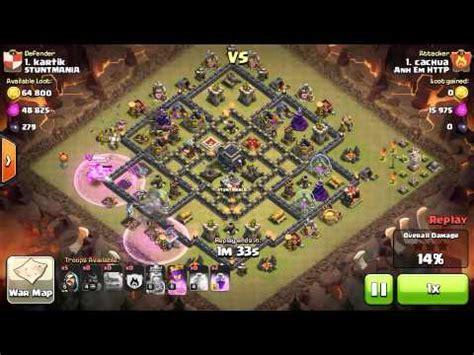 coc layout th9 anti gowipe th9 unbeatable base anti gowipe anti lavaloonion