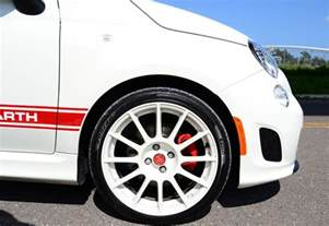 Fiat 500 Abarth Tires 2012 Fiat 500 Abarth Review Test Drive