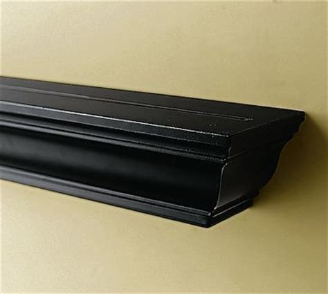 crown molding ledge 3 black traditional display and