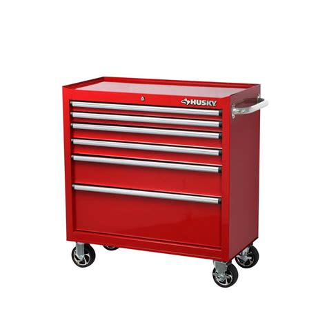 Husky 36 In 12 Drawer Tool Chest And Cabinet Combo In by Husky H36tr6ler 36 In 6 Drawer Roller Tool Cabinet