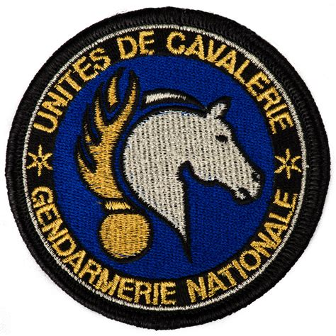 Home And Decoration ecusson sur velcro cavalerie gr sergequipement