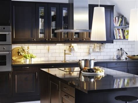 kitchen backsplash ideas with dark cabinets best kitchen backsplash ideas with black cabinets my