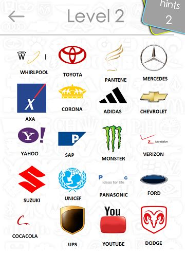 Auto Logo Quiz 2 0 Lösung by Logo Quiz 2 Answers Level 4 Communications 1