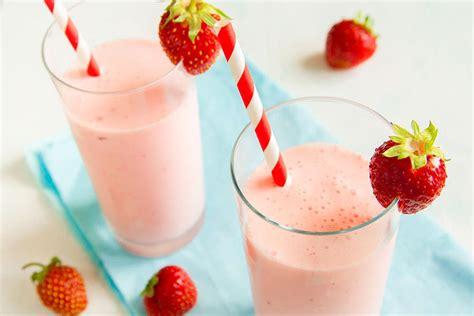 Milk Mi Banana Strawberry strawberry banana pineapple smoothie farm