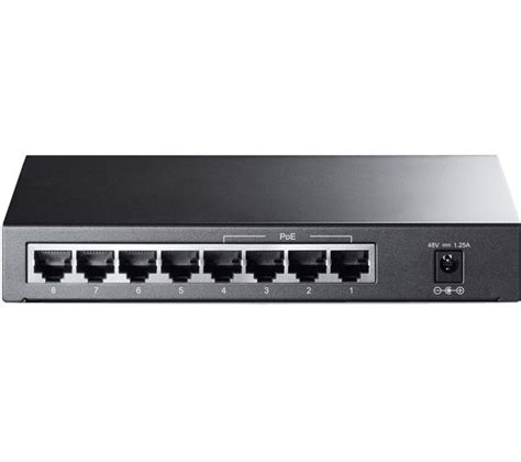 Switch Network tp link tl sf1008p 8 port ethernet switch deals pc world