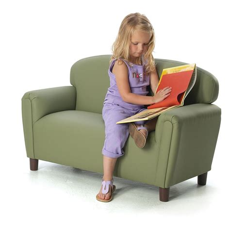 childs couch brand new world enviro child upholstered preschool sofa