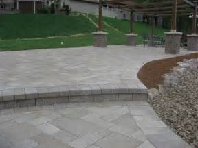 12x12 Patio Pavers Midwest Hardscape Waterfront Paver Patio Lake Louis Mo