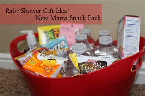 2nd Baby Shower Gift Ideas by Diy Baby Shower Gift New Snack Pack