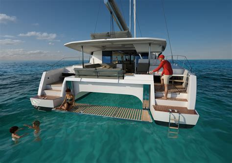 catamaran video fountaine pajot new 47 video youtube