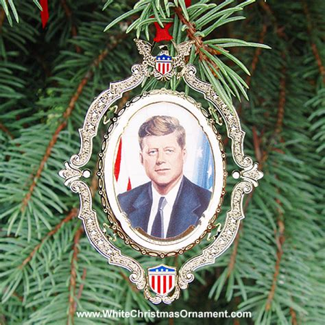 american president collection john f kennedy ornament