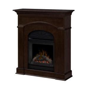 dimplex bronte 40 in electric fireplace in mocha dfp20