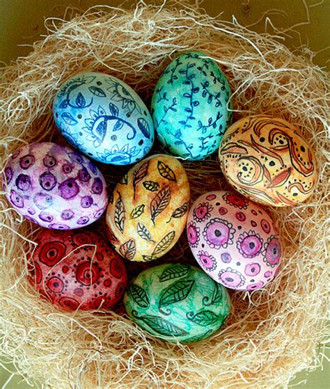 easter egg dye ideas 20 creative easter egg decoration ideas bored panda
