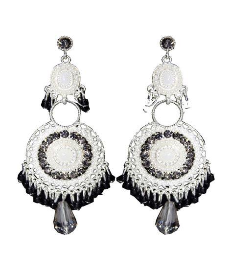 Trendy Chandeliers Moda Desire Trendy Black Chandelier Earrings Buy Moda Desire Trendy Black Chandelier Earrings