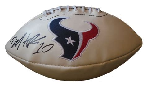 houston texans collectibles texans collectible 35 best houston texans autographed football collectibles