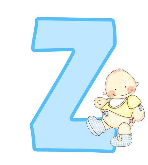letras de baby shower para imprimir letras may 250 sculas para imprimir de beb 233 letra z letra