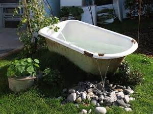 great way to recycle an tub garden ideas