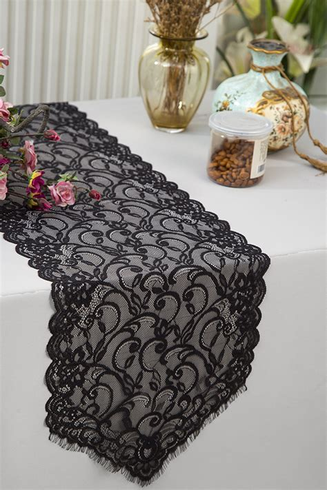 black lace table runner lace table runners black wedding table runner wholesale