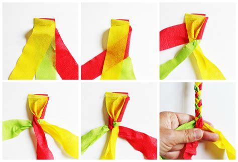 Crepe Paper Craft Ideas For - design for crepe paper bracelets babble dabble do