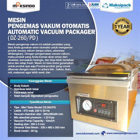 Mesin Vacuum Sealer Mini jual mesin vacuum sealer dz 260 pd di yogyakarta toko