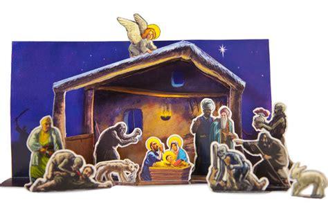 Nativity Paper Craft - papercraft nativity set free