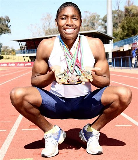 caster semenya is a man what s up woman man or a little bit of both how