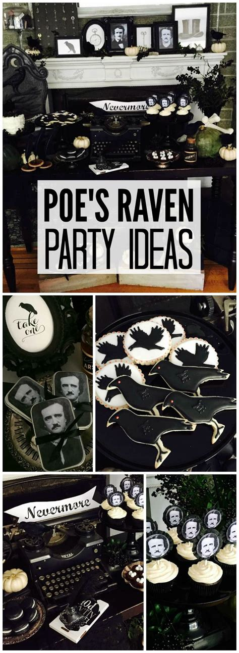 themes in gothic stories 105 best edgar allen poe party images on pinterest