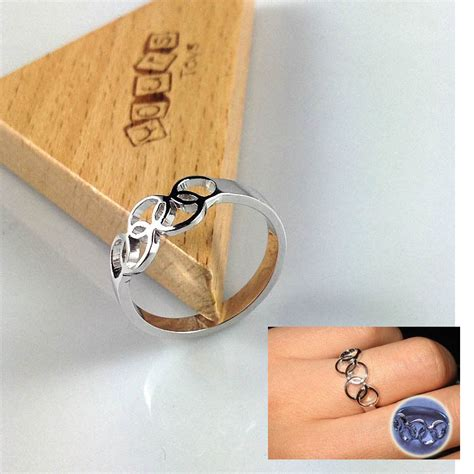 5 Rings For Your Pretty Fingers by Silver Olympic Five Rings Ring Band Finger Ring Great