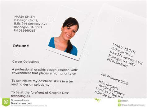 Lebenslauf Und Englisch Lebenslauf Und Anwendungszeichen Auf Englisch Lizenzfreie Stockfotografie Bild 8083857
