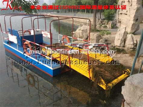 trash in boat fuel tank aquatic weed removal boat harvester trash collector buy