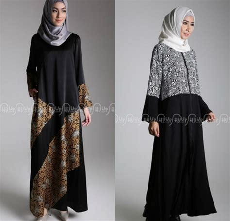Pakaian Muslim Terbaru 32 model baju batik muslim modern terbaru co id