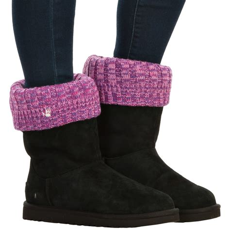 knit boot toppers bearpaw knit boot toppers for save 49