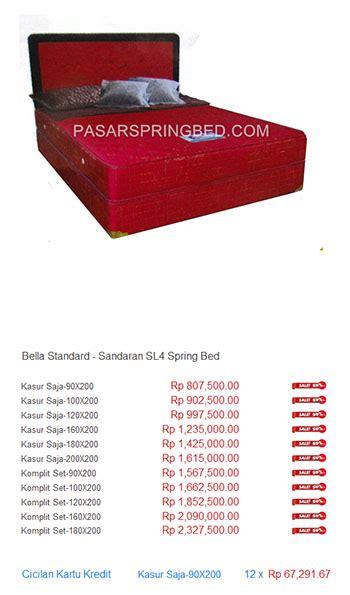 Kasur Bigland Jakarta harga bed harga bed termurah di indonesia